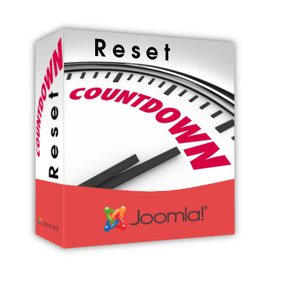 Reset Countdown 3D Box