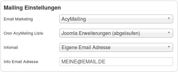 de digistore connect mailing einstellungen