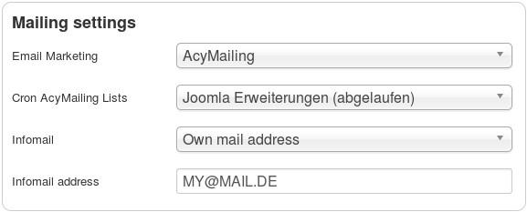 en digistore connect mailing settings