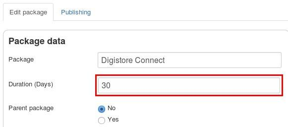en digistore connect package runtime